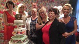 Proud bakers, decorators and human rights workers.
