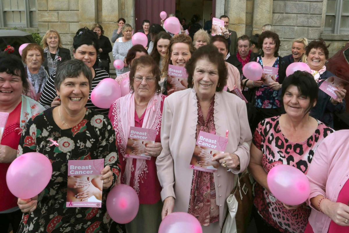 13.10.16. Dublin. Pavee Point Traveller & Roma Centre. Launch of breast cancer awareness resources for Travellers. ©Photo by Derek Speirs