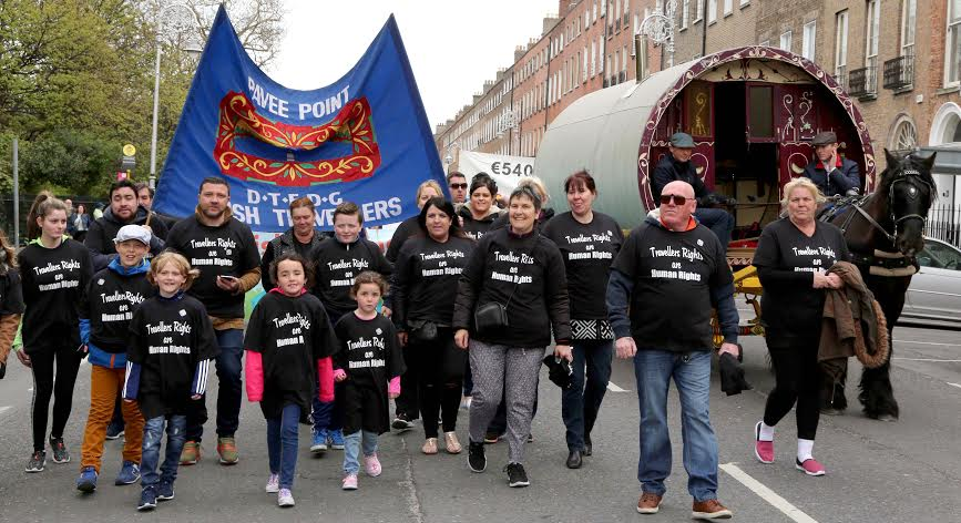 24th April 2016  'Reclaim the Vision of 1916'  march and rally. ©Photo by Derek Speirs