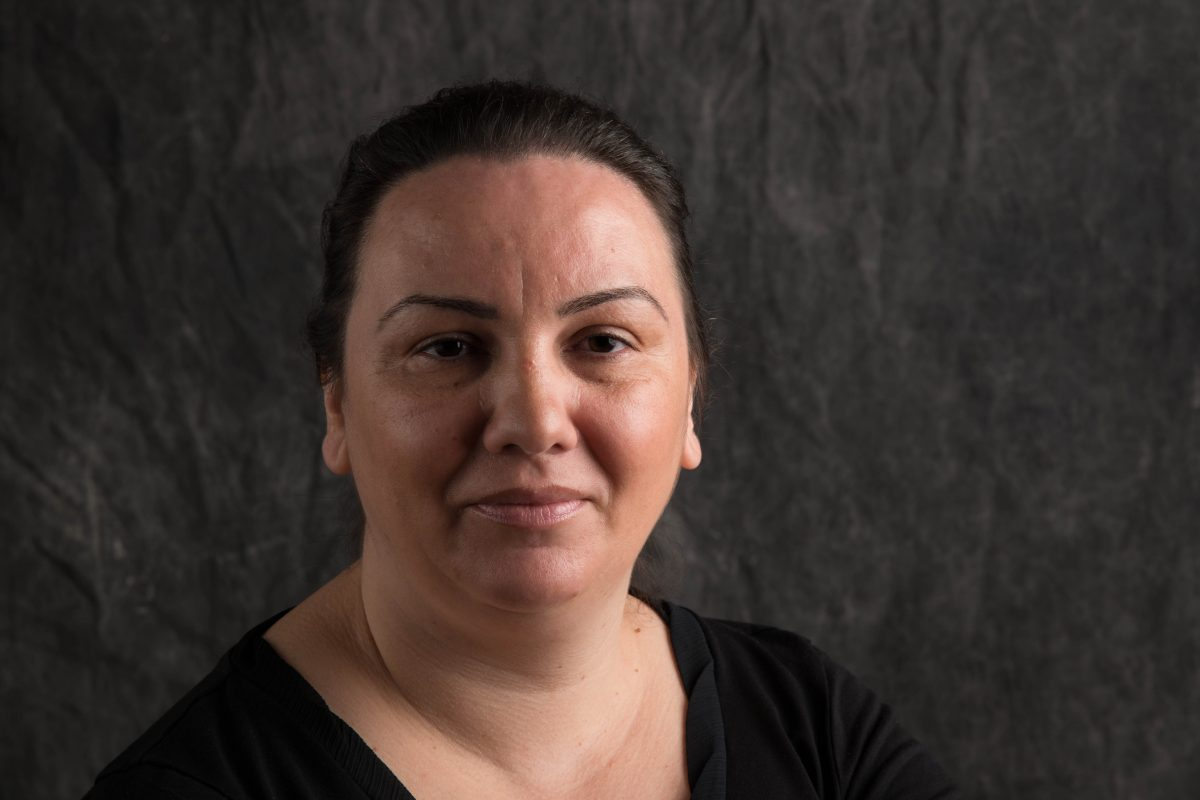 My name is Gabi. I have lived in Ireland for 17 years. I am an Irish citizen and I belong to Ireland. I am proud to be a Roma woman, mother, wife and activist. Through my work at Pavee Point I want to make a change for the Roma community, especially the Roma women. I want to see Roma women and girls to stand up for themselves and their rights. I want them to have this courage. It is important to live in solidarity with others and to have the courage to say we are the Roma. ©Photo by James Fraher