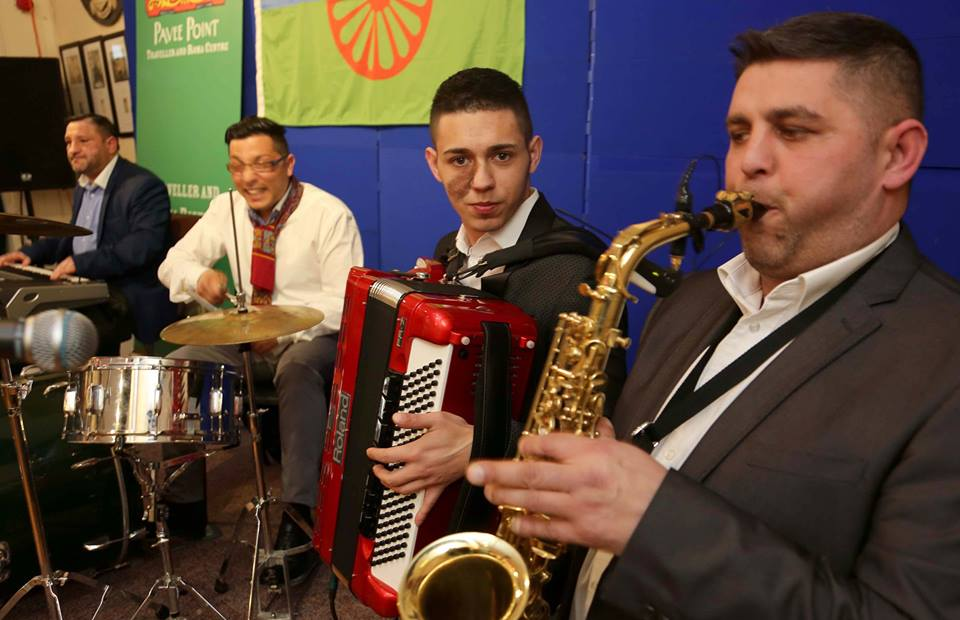 Celebrating International Roma and Traveller Day with Musicantia. ©Photo by Derek Speirs