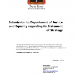 To  Department of Justice Strategy Statement 2014