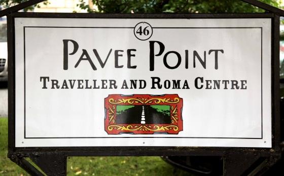 Pavee Point New Sign DO NOT REMOVE