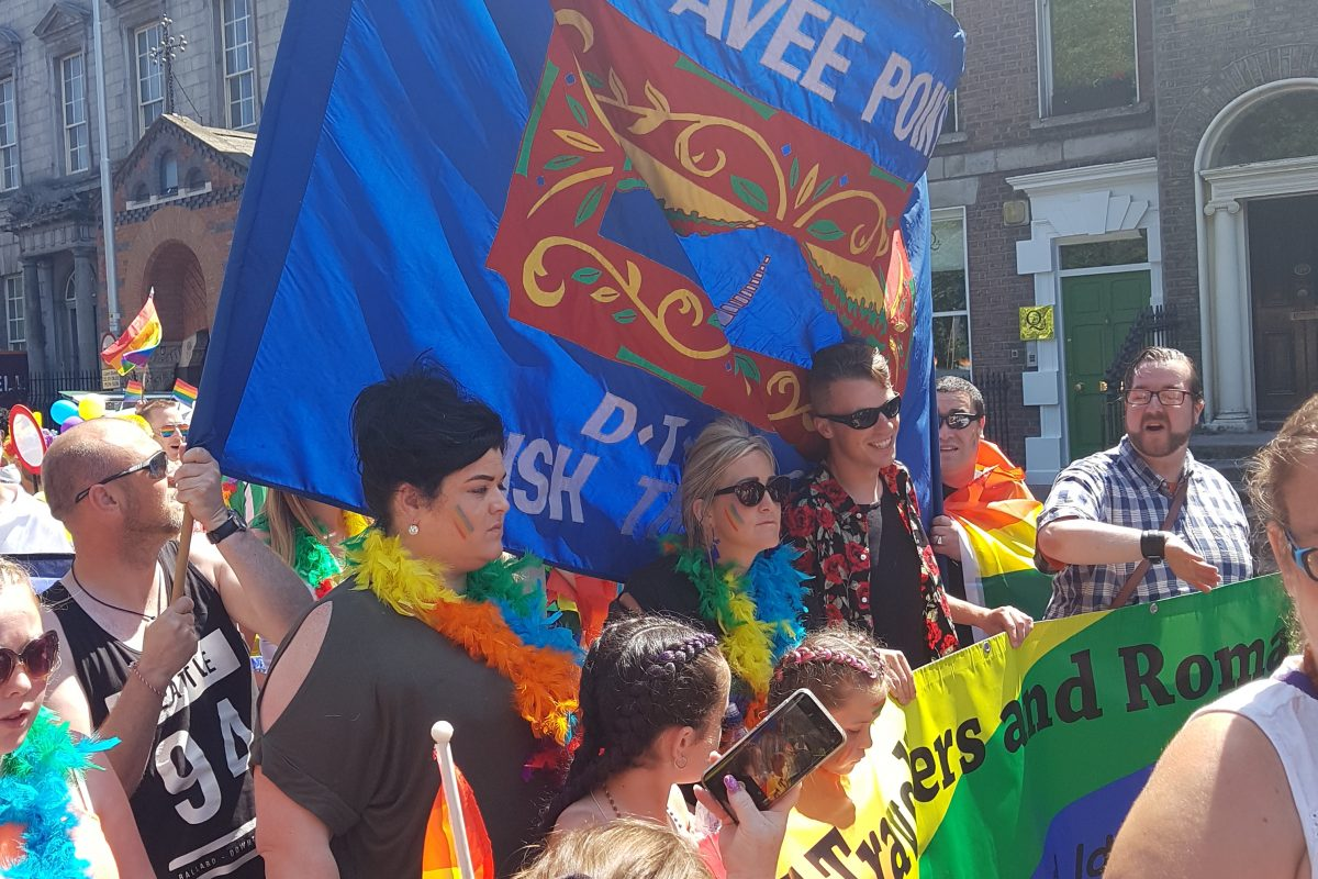 Pavee Point's 13th time marching at Dublin LGBTQI Pride