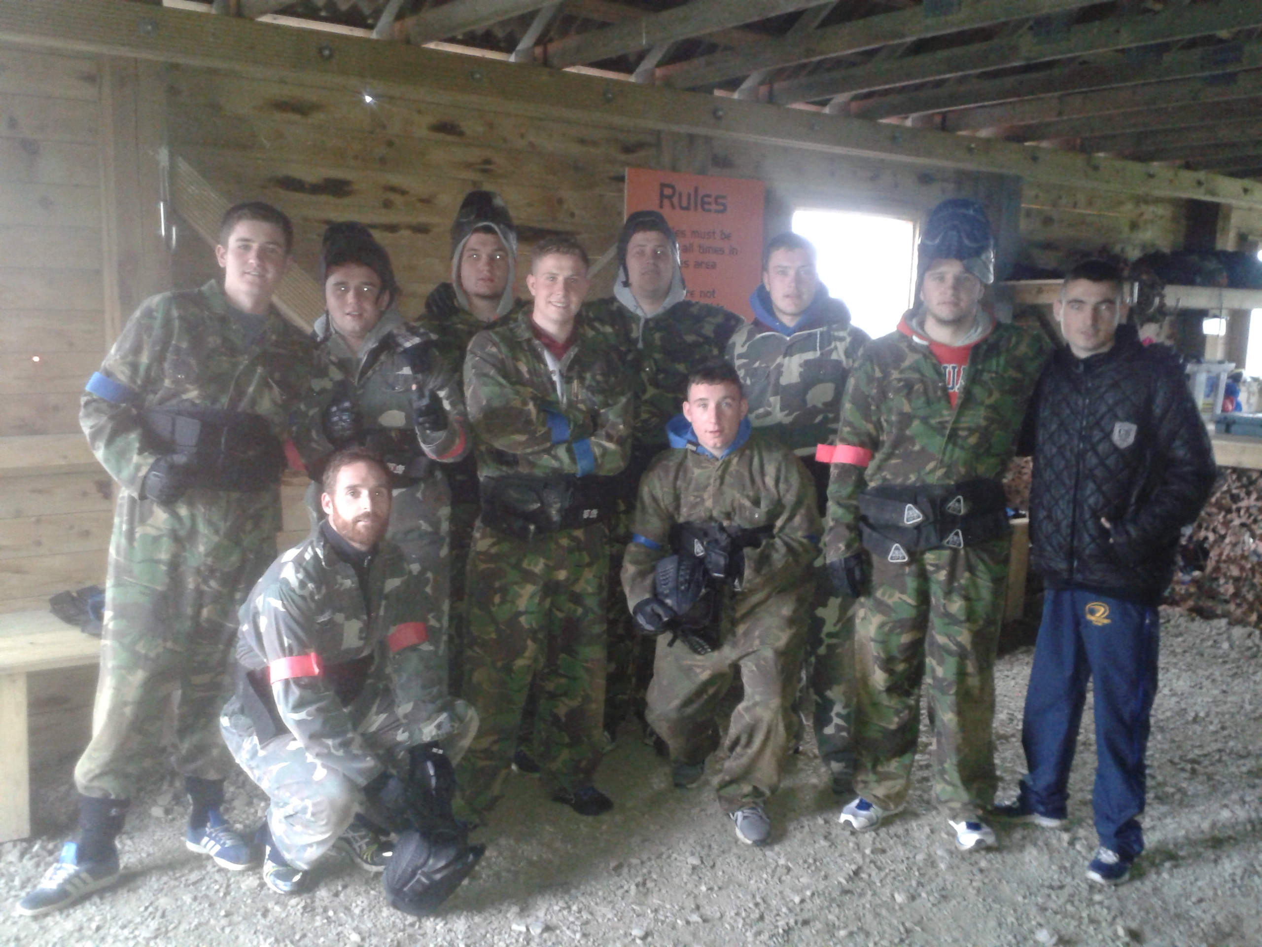 Cara Park Paint Ball 2014