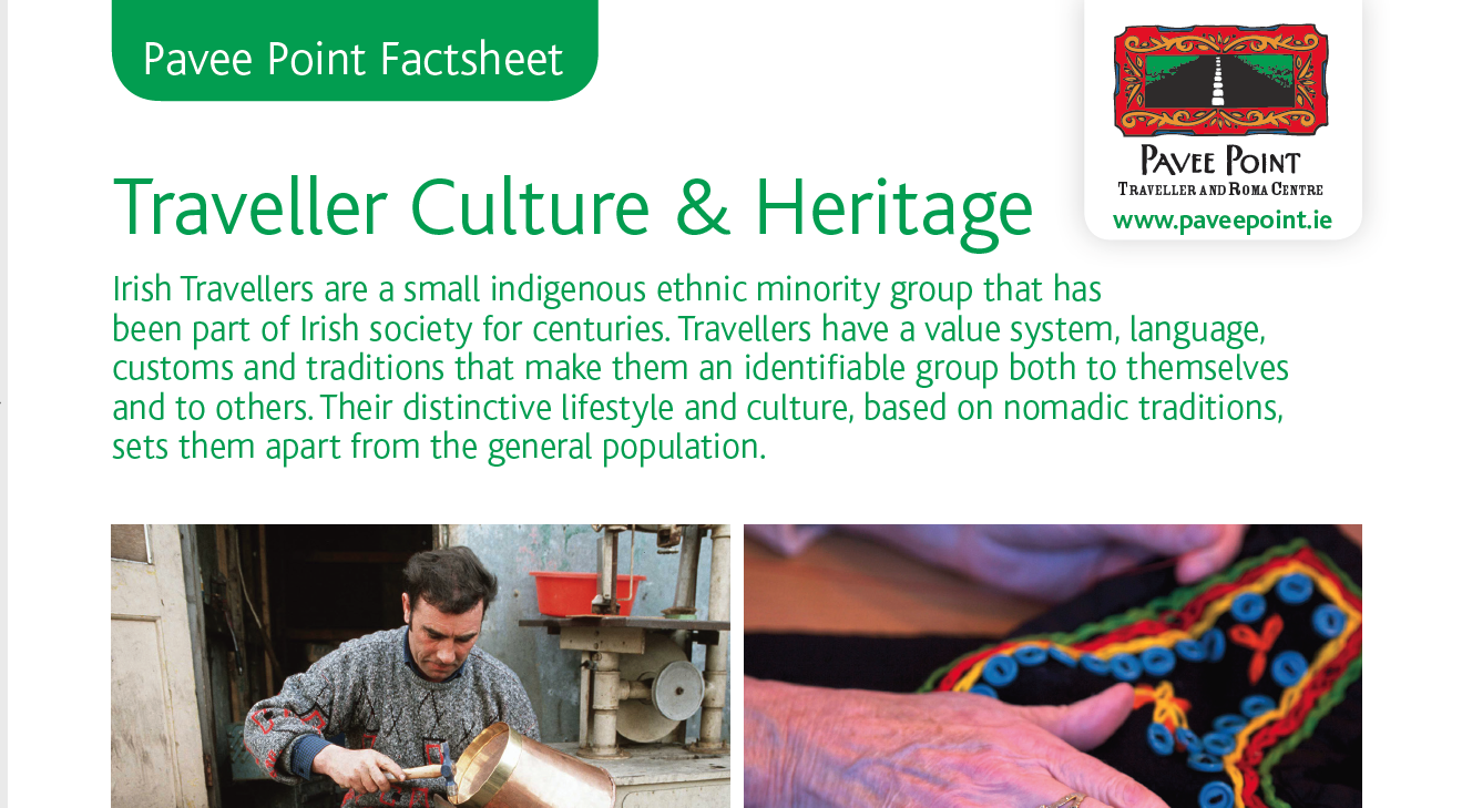 Traveller Culture and Heritage Factsheet