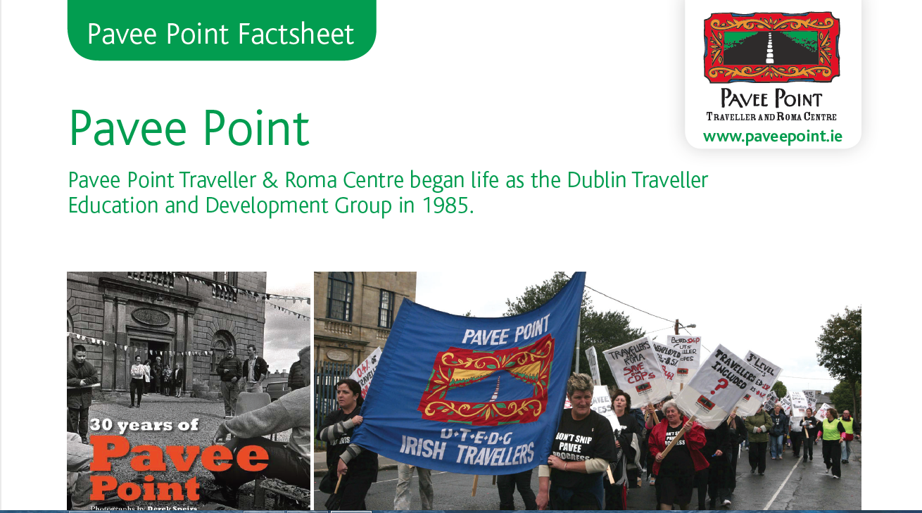 Pavee Point Factsheet