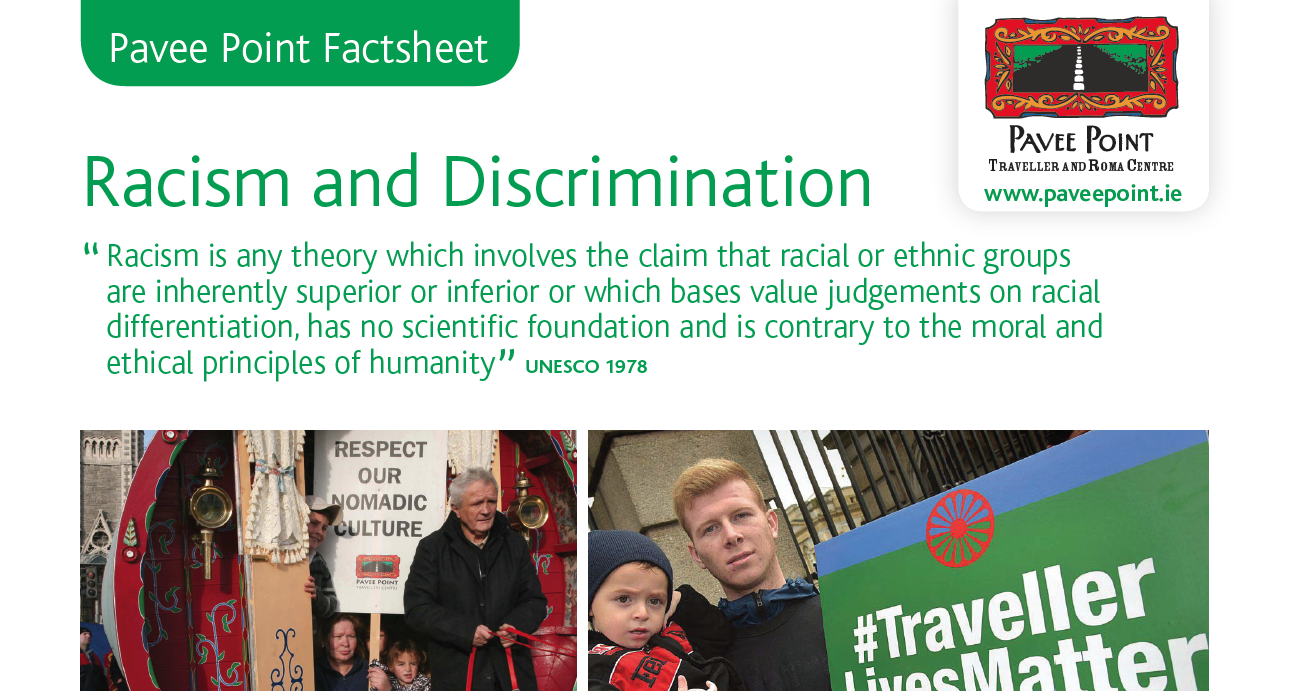 Racism and Discrimination Factsheet