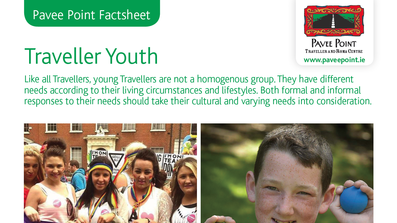 Traveller Youth Factsheet