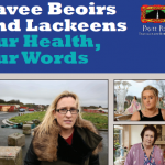 Pavee Beoirs and Lackeens Our Health, Our Words