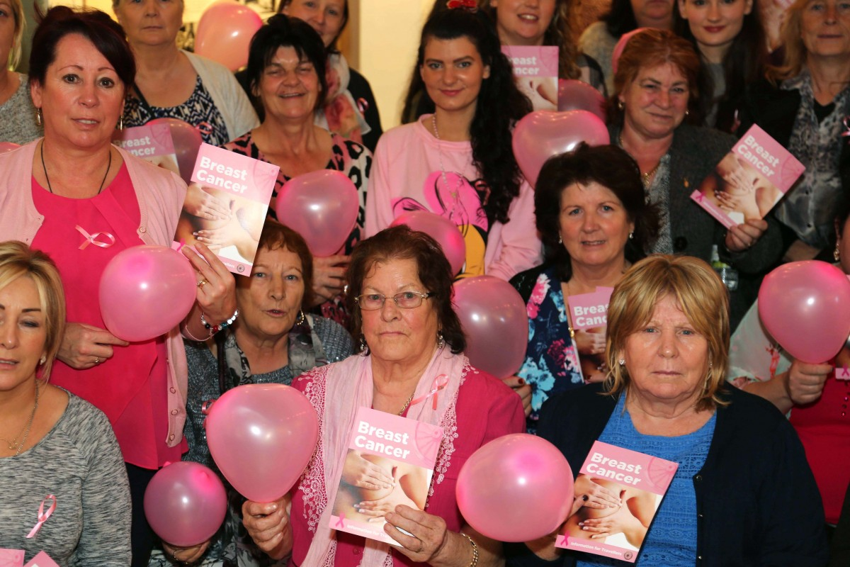 Launch of breast cancer awareness resources for Travellers ©Photo by Derek Speirs