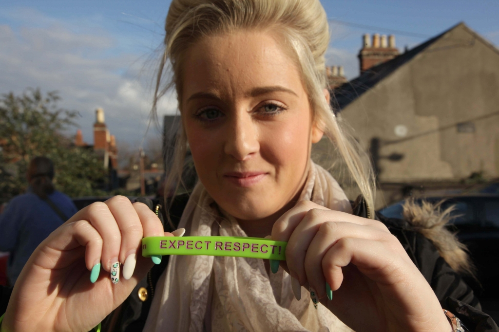 Rebecca McDonagh atEXPECT RESPECT!, 16 Days of Action Campaign on Violence against Women Conference in Pavee Point. ©Photo by Derek Speirs