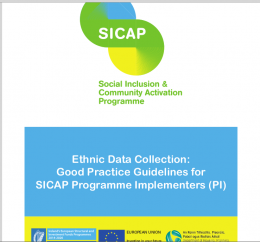 Ethnic Data Collection Good Practice Guidelines for Sicap Programme Implementers