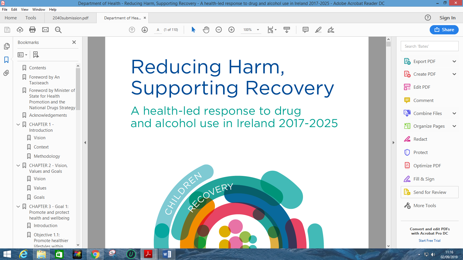 Reducing Harm Supporting Recovery 2017-2025